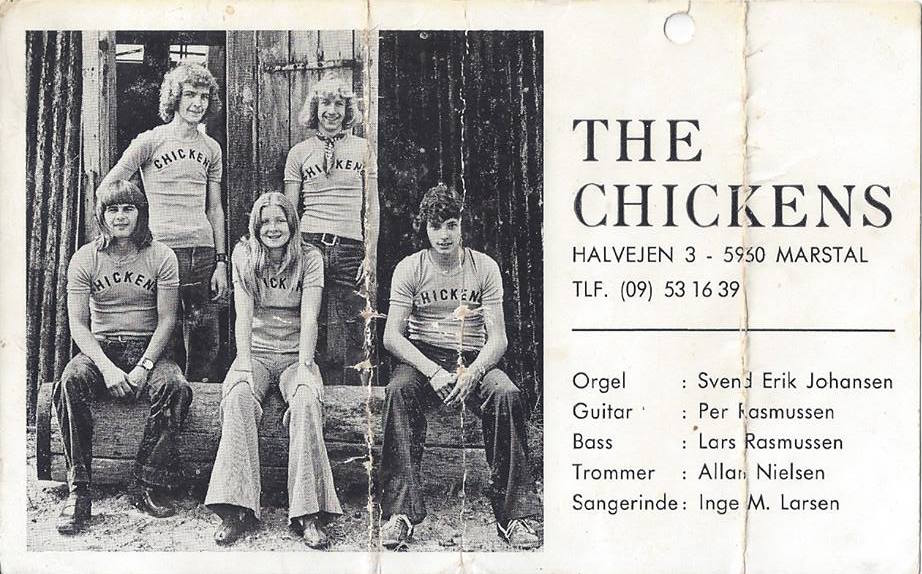 Inge-Marie i Chickens